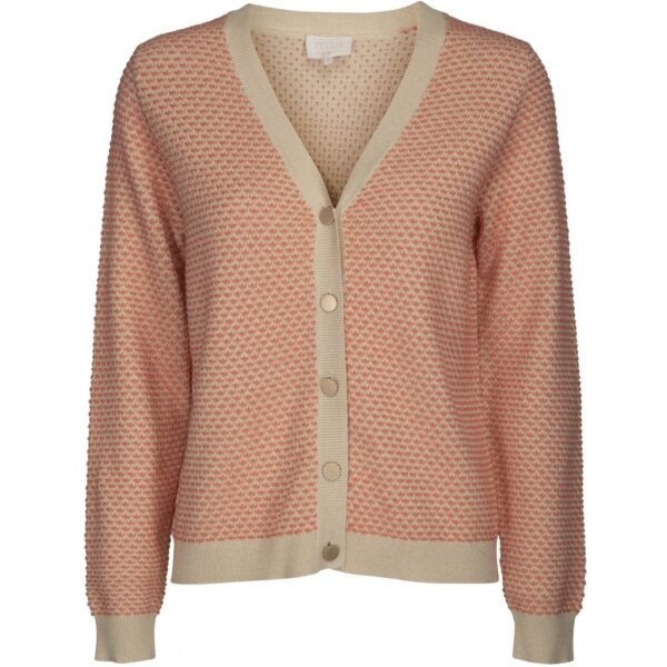 Aimy knit cardigan front